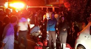 בת ים: 20 נפגעים משאיפת עשן בשריפה