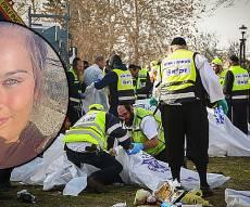 זירת הפיגוע ומאיה פלד - אם הקצינה: 'רק למשפ' אזריה ביבי התקשר'