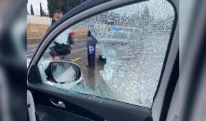 שוטר נפגע מאבן; המשטרה מגבירה אכיפה