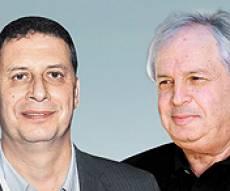 """מימין שאול אלוביץ' בעל השליטה בבזק ומנכ""""ל יס רון אילון - אלו החשדות נגד בעל השליטה בחברת בזק"""