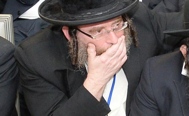 הרב מרדכי בלוי. ארכיון