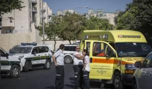 ירושלים: שלושה אחים נכוו מסודה קאוסטית