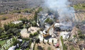 צפו: כוחות הביטחון פינו השתלטות ערבית