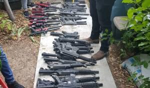 גנב עשרות רובי פיינטבול וניסה לשדוד איתם