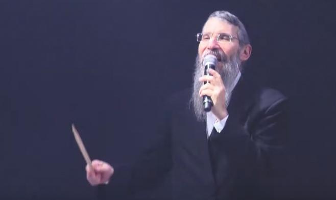 צפו בביצוע של אברהם פריד מ'צמאה': 'על הסלע הך'
