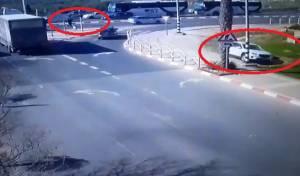 צפו במרדף באלעד שנגמר בשוטרים פצועים