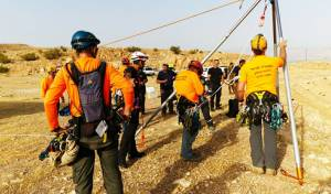 המתנדבים עבדו בשיטת דרדרת • צפו בחילוץ
