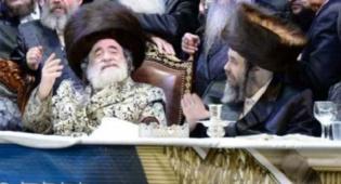 שמחה רבה בויז'ניץ: בנו של הרבי הוכתר לרב