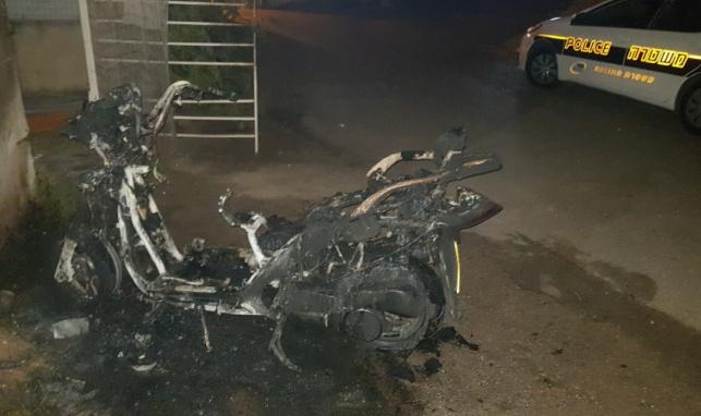הפרובוקטור מתלונן: שרפו לי את האופנוע