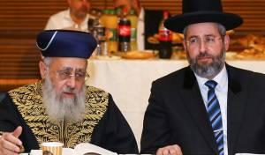 הרבנים הראשיים - שוב: פגישת הפוליטיקאים והרבנים נדחתה