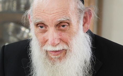 """הגאון רבי אהרון פלדמן - הגר""""א פלדמן נפגש עם חברי הכנסת"""