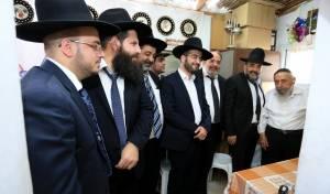 """נציגי ש""""ס בבני ברק ביקרו אצל הרבנים"""