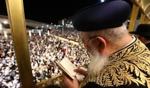 """רבבות בעצרת הסליחות בראשות הראשל""""צ"""