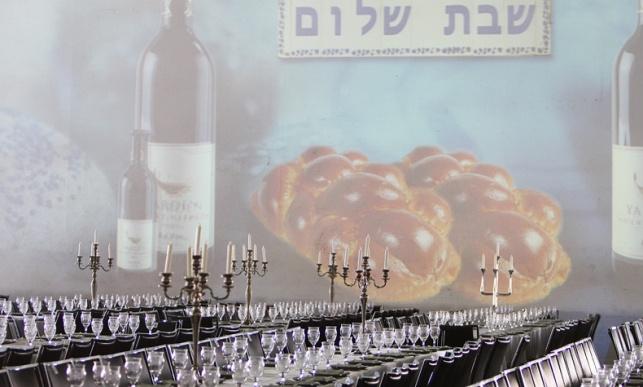 שולחן השבת הגדול בעולם