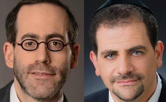 עורכי הדין יוסי ויצמן ומנחם מושקוביץ