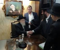 הרב אלישיב חנך בית הוראה על שם אביו