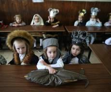 ילדי החיידרים התחפשו לכבוד פורים • גלריה