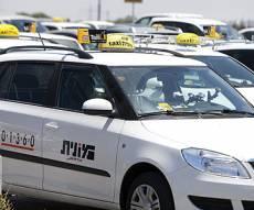 """מונית גט טקסי. אילוסטרציה - מוניות הדר ו-Gett זכו במכרז להפעלת מוניות מנתב""""ג"""