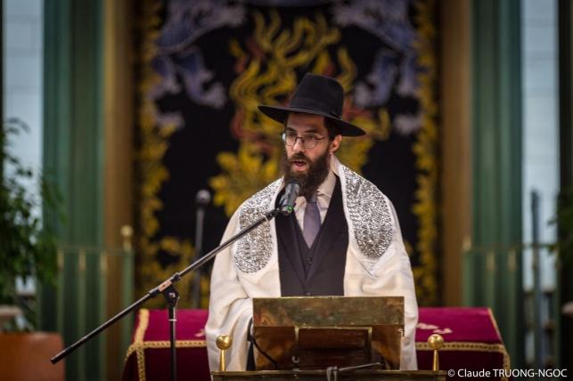 הרב הצעיר מונה לרבה של שטרסבורג • צפו