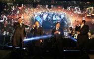 צפת: חמישה זמרים בשמחת בית השואבה