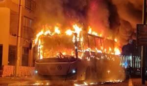 דרישה: ועדת חקירה על שריפת האוטובוס