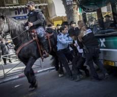 הפגנות סוערות במאה שערים | תיעוד