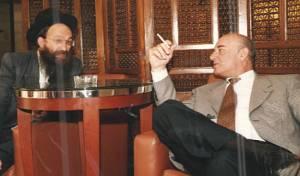 הרב גליס עם יעקב פרי