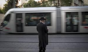 הרכבת הקלה בירושלים. אילוסטרציה