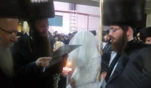 בן הרבי, שהתאלמן ב'אסון 402', התחתן שוב