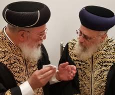 """הגר""""י יוסף והגר""""ש עמאר"""