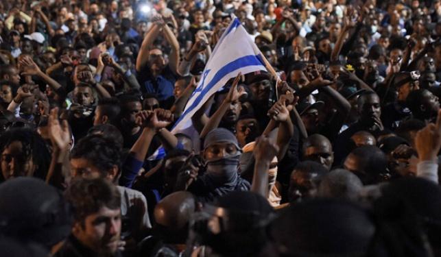 מחאת העדה האתיופית, לפני כחודש