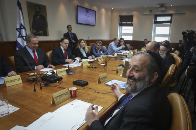 בצל המשבר: כך נראתה ישיבת הממשלה