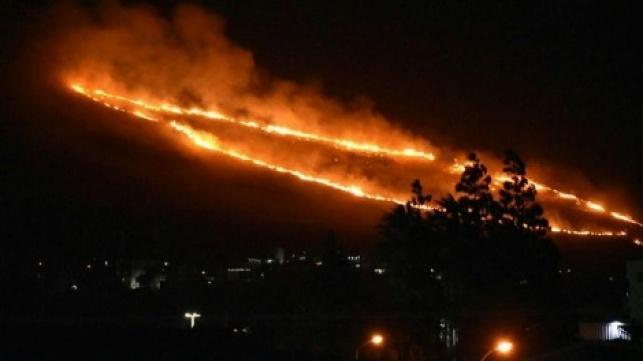 כתבי אישום נגד שני ערבים שהציתו שריפות
