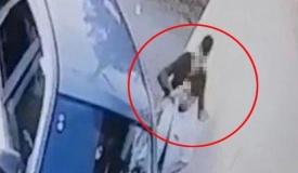 צפו בתיעוד: מחבל דוקר גבר חרדי ונמלט