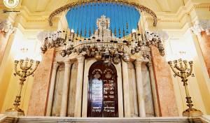 מפואר: במצרים חנכו את בית הכנסת העתיק