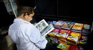 ספרים לילדים וכל המשפחה במבצע. אילוסטרציה