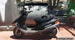נעצר בלי רישיון על קטנוע העומד לפירוק