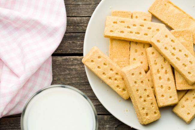 שורטברד. עוגיות חמאה קלאסיות