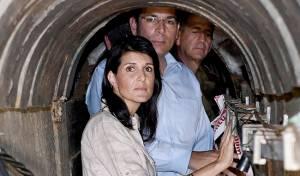 היום של ניקי היילי בישראל