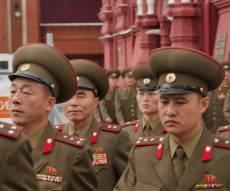 חיילים בצפון קוריאה