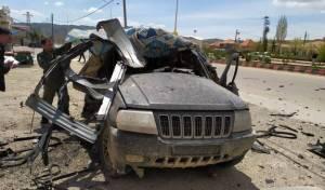 """מל""""ט צבאי תקף כלי רכב בגבול סוריה-לבנון"""