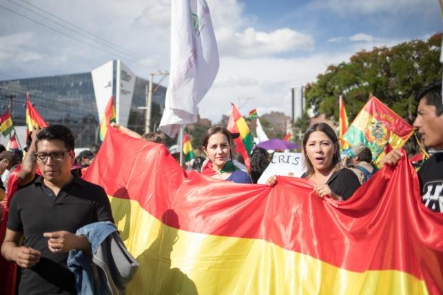 המחאות בבוליביה
