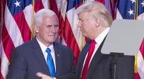 """טראמפ ופנס. ארכיון - """"הנשיא שוקל ברצינות להעביר את השגרירות"""""""