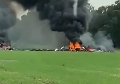 """קצין וחייל בצה""""ל נהרגו בהתרסקות המטוס"""