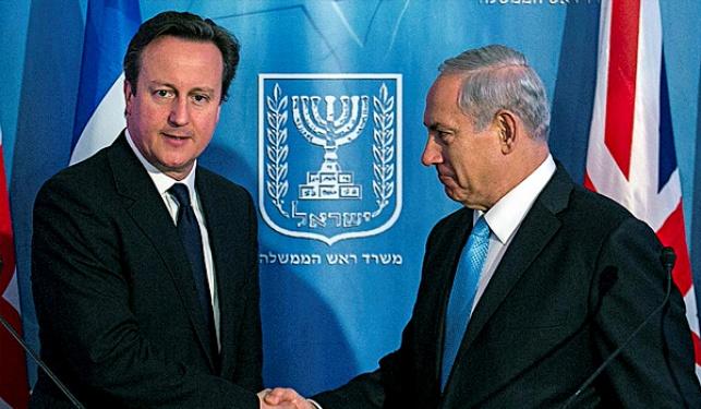 ראש ממשלת בריטניה דיוויד קמרון עם נתניהו