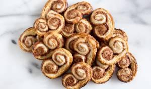 """עוגיות """"אוזני פיל"""" מתוקות ומהירות הכנה"""