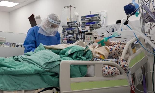 טיפול בחולי קורונה ב'מעייני הישועה'