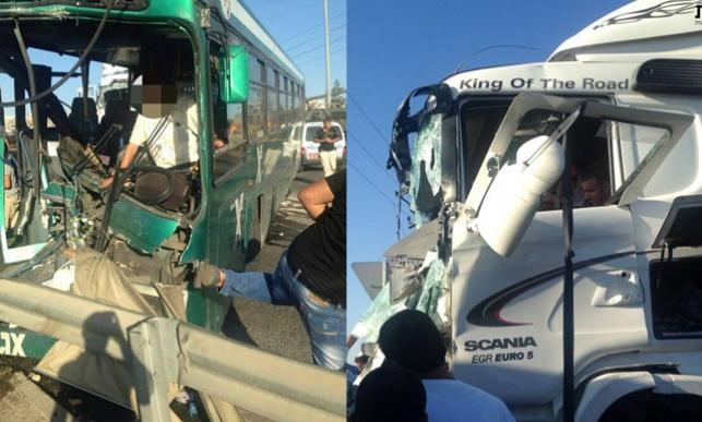 כיכר אדם: 24 פצועים בתאונה