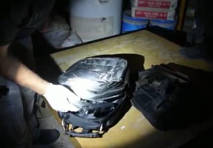 שוטרים גילו את התחמושת שהסתיר נהג ערבי