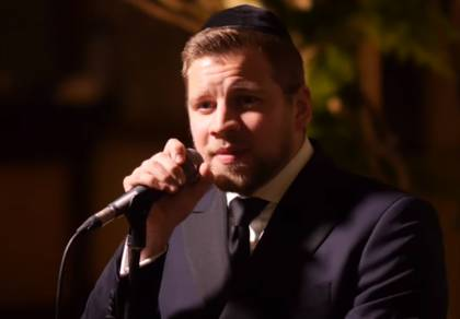 מרדכי שפירא במחרוזת חתונה לייב מלהיטיו